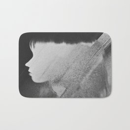 Faceless Charcoal Bath Mat
