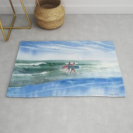 The Surfers Rug