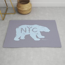 Polar Bear NYC aka Polar Opposites Rug