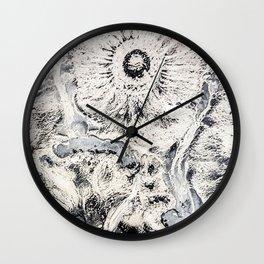 Mocha Diffusion Wall Clock
