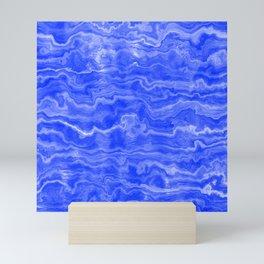 Egyptian Marble, Lapis Blue Mini Art Print