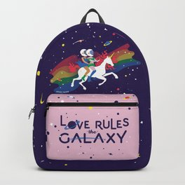 Love Rules the Galaxy Backpack