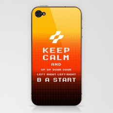 keep calm konami. iPhone & iPod Skin