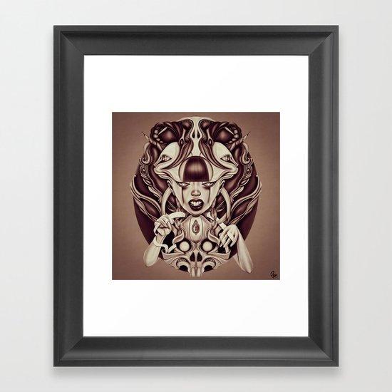 """Locked"" Framed Art Print"