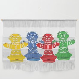 Candy Board Game Figures Wall Hanging