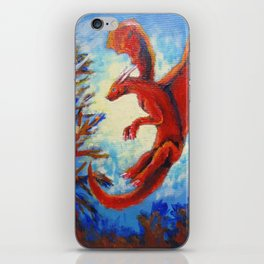 Little dragon iPhone Skin