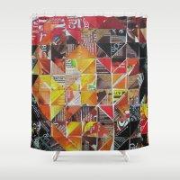 jack sparrow Shower Curtains featuring Jack Sparrow by Ruud van Koningsbrugge