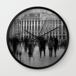 Belgian Reverberation Wall Clock