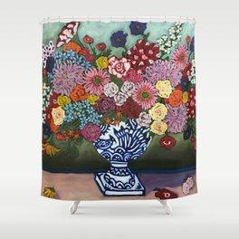 Amsterdam Flowers Shower Curtain