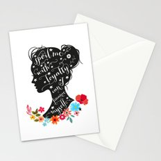 sPOIL ME WITH LOYALTY Stationery Cards