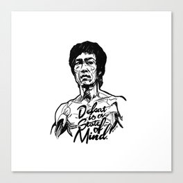 Undefeated Mind Canvas Print