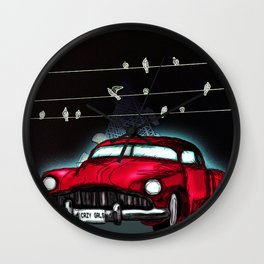 Crazy Girls : Official Digital Painting Wall Clock
