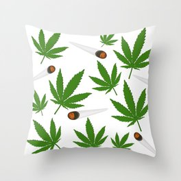 Legalize It Throw Pillow