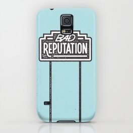 Bad Reputation iPhone Case