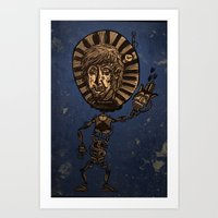 Captain Rust  Art Print