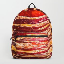 Red, yellow, brown bark of a tree - autumn colours of nature Backpack