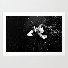 Randy Blythe/Lamb of God Art Print