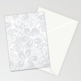 Maui Polynesian Silver Wedding Stationery Cards