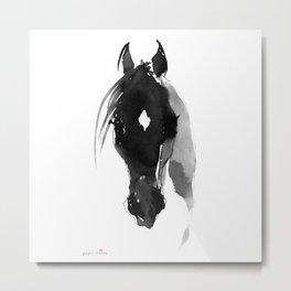 Horse (Star) Metal Print