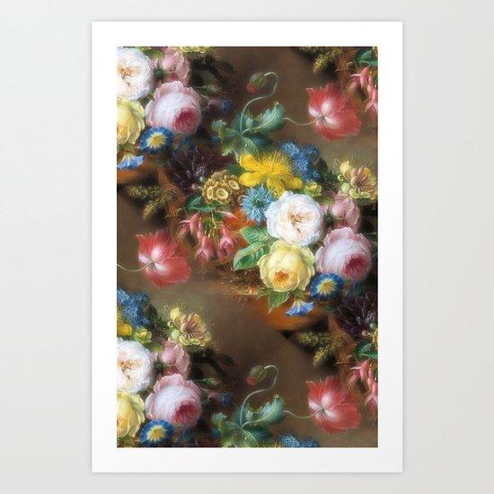 Soft Summer Bouquet Art Print