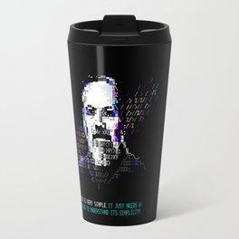 Dennis Ritchie - Tech Heroes series Travel Mug