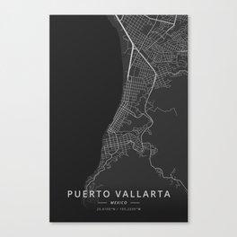 Puerto Vallarta, Mexico - Dark Canvas Print