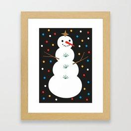 HAPPY CHRISTMAS. IV Framed Art Print