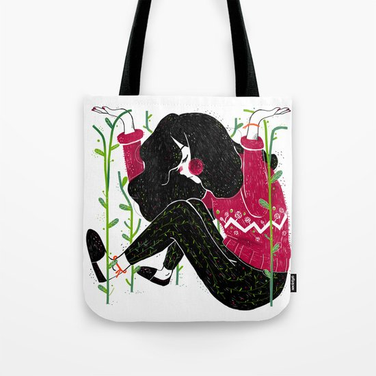 Outgrowing the Comfort Zone Tote Bag