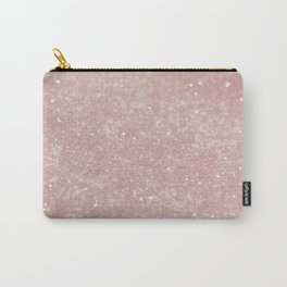 Blush Princess Glitter #1 #shiny #decor #art #society6 Carry-All Pouch