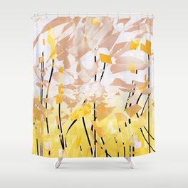 it's in the air Shower Curtain