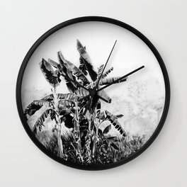 banana tree Wall Clock