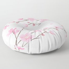 Cherry Blossom - Pink Floor Pillow