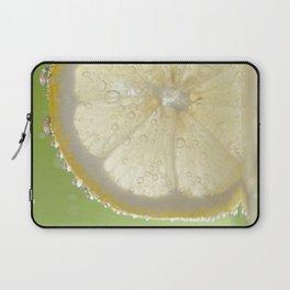 Bubbly Lemon - Lime Green Laptop Sleeve