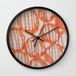 O-range Lanterns Wall Clock