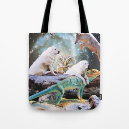 Cosmic Creatures Tote Bag