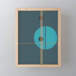 Geometric Abstract Art #4 Framed Mini Art Print