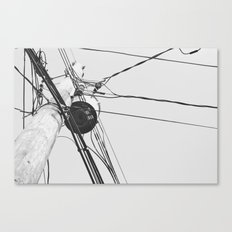 You Got Your Wires Crossed? Canvas Print