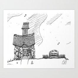 Anti-Bauhaus Art Print