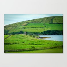Ruined Tower, Dingle, Ireland Canvas Print