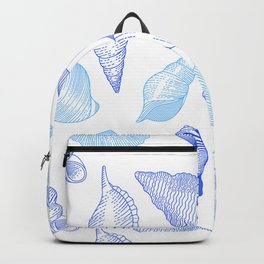 Seashells Pattern Sea Decoration Backpack