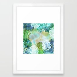 #tropiclove 2 Framed Art Print