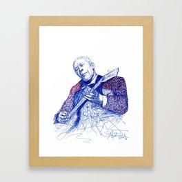 The thrill is gone  Framed Art Print