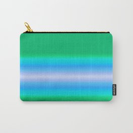 Simply Blue Green Carry-All Pouch