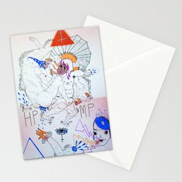 bossfight Stationery Cards