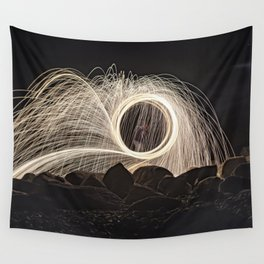 Firespinner #2 Wall Tapestry