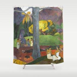Mata Mua by Paul Gauguin Shower Curtain