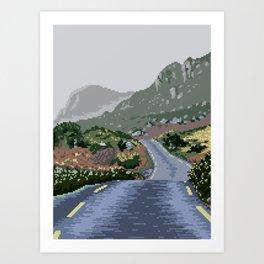 Gap of Dunloe, Ireland Art Print
