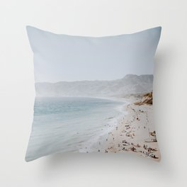 coast v / malibu, california Throw Pillow