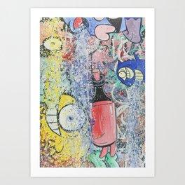 Brick Lane Market #3 Art Print