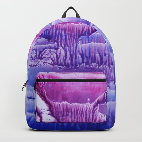blue underwater world 2 Backpack